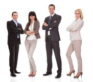 Portrait of businesspeople group Stock Image