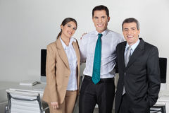 Portrait of businesspeople team Royalty Free Stock Photo