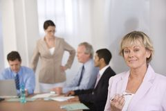 Portrait of businesswoman Stock Image