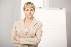 Portrait of businesswoman. Royalty Free Stock Images