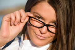 Portrait of the Businesswoman Stock Image