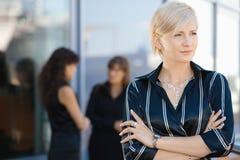 Portrait of businesswoman Stock Images