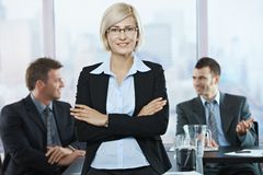 Portrait of businesswoman Stock Images