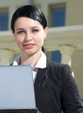 Portrait of businesswoman Royalty Free Stock Images
