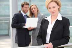 Portrait of a businesswoman Royalty Free Stock Photography
