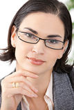Portrait of businesswoman Royalty Free Stock Image