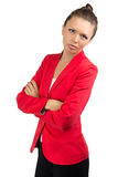 Portrait of businesswoman with arms crossed Royalty Free Stock Photos