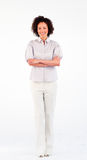 Portrait of businesswoman with crossed arms Royalty Free Stock Photos