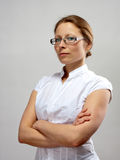 Portrait of businesswoman with crossed arms Royalty Free Stock Image