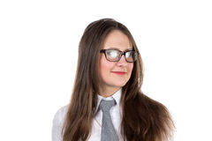 Portrait of businesswoman with glasses Royalty Free Stock Photography