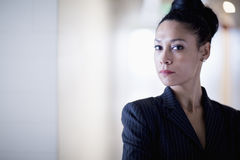 Portrait of businesswoman looking at camera Royalty Free Stock Image