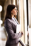 Portrait of businesswoman in modern office Royalty Free Stock Images