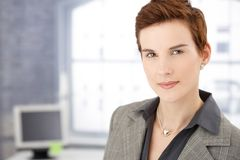 Portrait of businesswoman in office Royalty Free Stock Photo