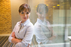 Portrait of businesswoman in office Royalty Free Stock Image