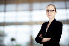 Portrait of businesswoman in the office Royalty Free Stock Photo