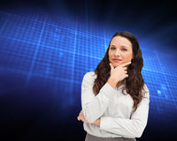 Portrait of a businesswoman posing Stock Photo