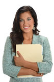Portrait of Businesswoman Smiling Royalty Free Stock Images