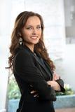Portrait of Businesswoman Smiling Royalty Free Stock Photos