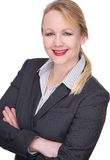 Portrait of a businesswoman smiling Royalty Free Stock Photography