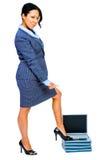 Portrait of businesswoman standing Stock Image