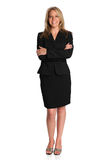 Portrait of Businesswoman Standing Royalty Free Stock Photo