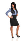 Portrait of Businesswoman Standing Royalty Free Stock Photos