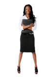 Portrait of Businesswoman Standing Stock Image