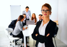 Portrait of a businesswoman standing Royalty Free Stock Photography