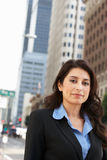 Portrait Of Businesswoman Standing In Street Royalty Free Stock Photo