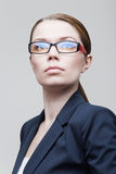Portrait of a businesswoman wearing glasses Stock Photo