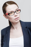 Portrait of a businesswoman wearing glasses Royalty Free Stock Photography