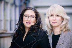 Portrait of Businesswomen Stock Images