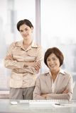 Portrait of businesswomen in office Royalty Free Stock Images