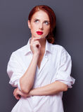 Portrait of a businesswomen Royalty Free Stock Photo