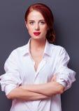 Portrait of a businesswomen Stock Image