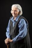 Portrait of a calm senior woman Royalty Free Stock Image