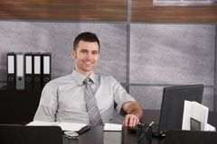 Portrait of casual businessman Royalty Free Stock Images