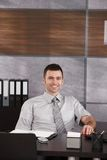 Portrait of casual businessman Royalty Free Stock Photos