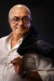 Portrait of casual elderly man Stock Photography