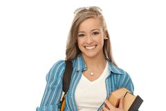Portrait of casual student Stock Photography