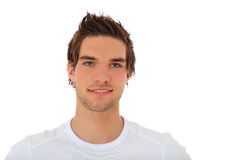 Portrait of a casual young guy Royalty Free Stock Photos