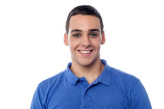 Portrait of casual young guy, studio shot Stock Photo