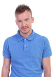 Portrait of a casual young man Royalty Free Stock Photos