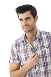 Portrait of casual young man Royalty Free Stock Images