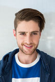 Portrait of casual young man Royalty Free Stock Photography