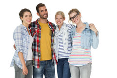 Portrait of casually dressed young people Stock Photo