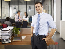 Portrait of caucasian business man Stock Photography