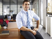 Portrait of caucasian businessman Royalty Free Stock Photography