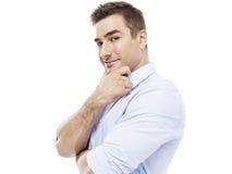Portrait of a caucasian businessman Stock Photography