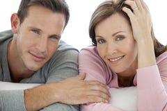 Portrait of a Caucasian couple Stock Image